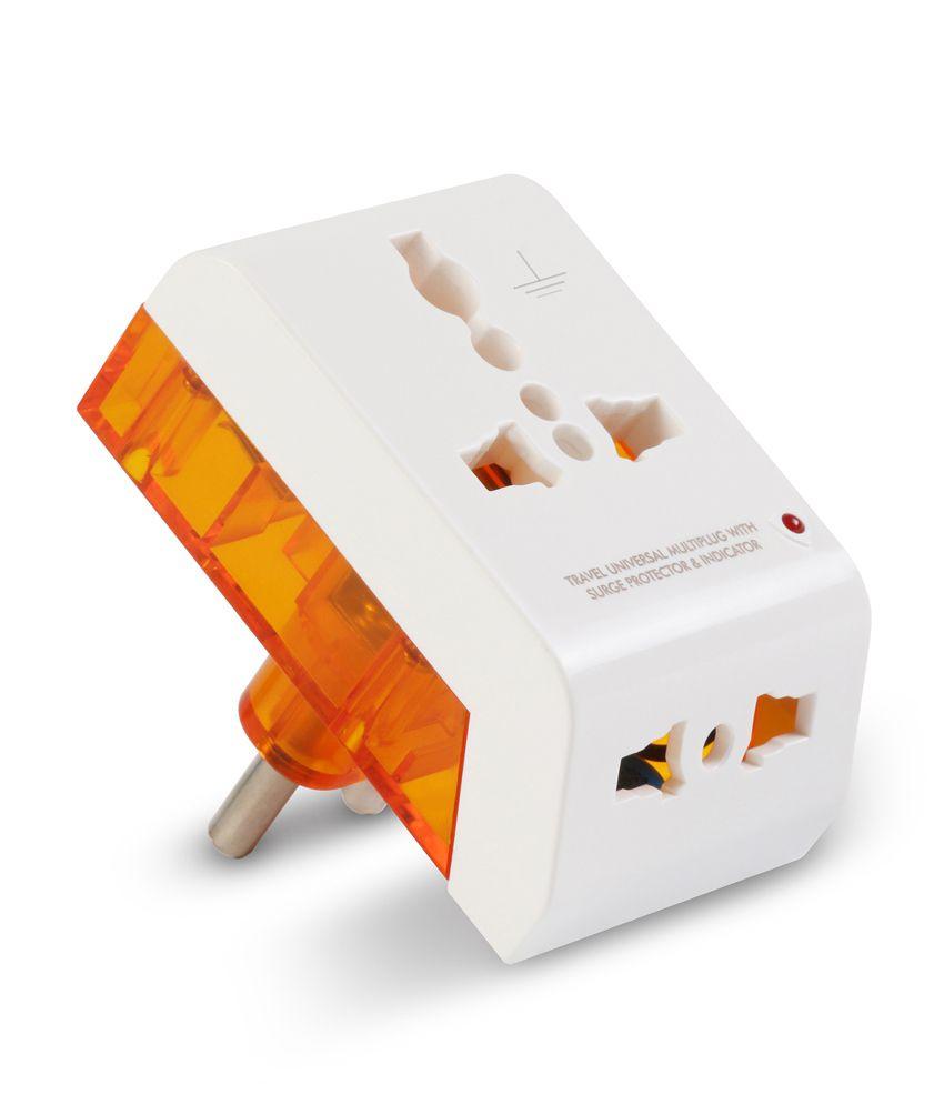 Buy Gm 2 Pin Universal Travel Multi Plug Online At Low