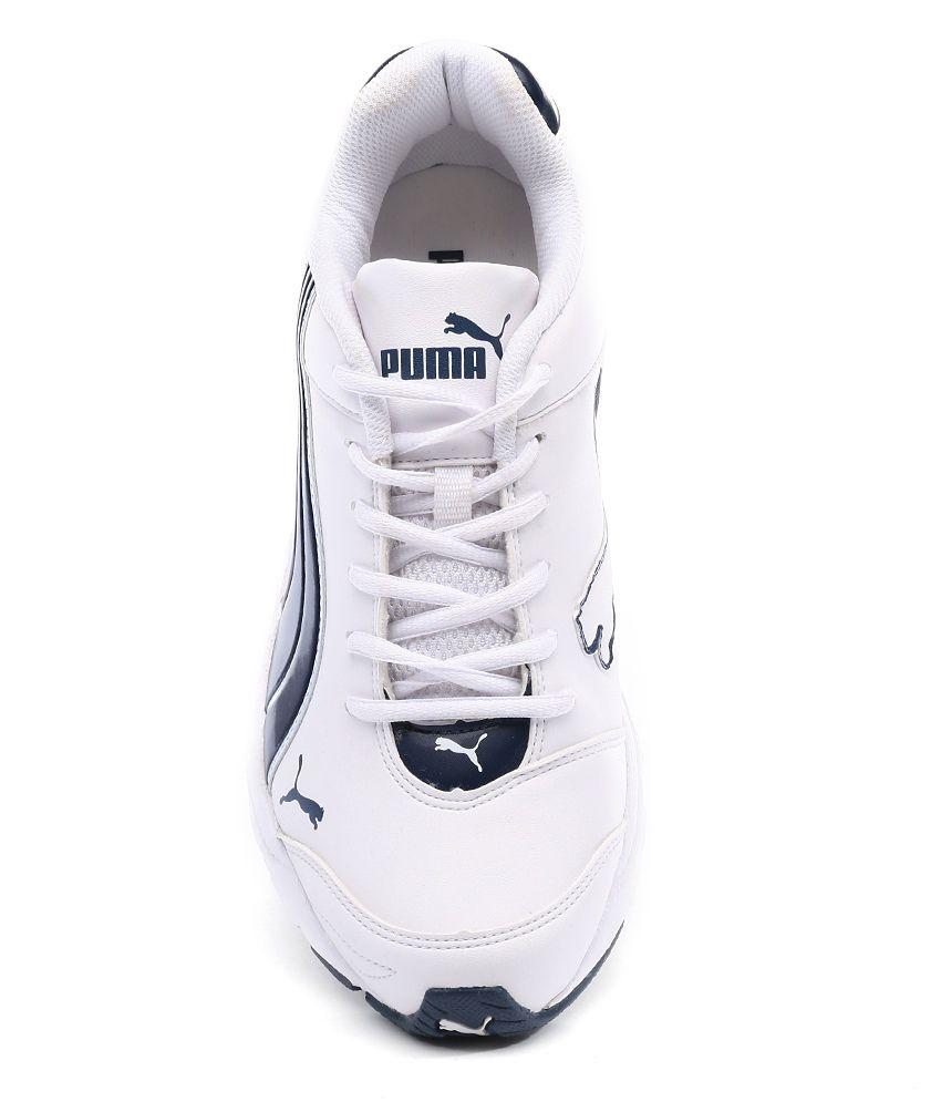 Puma Axis Iv Xt Dp White Sports Shoes - Buy Puma Axis Iv Xt Dp White ... fb2894eb32c1