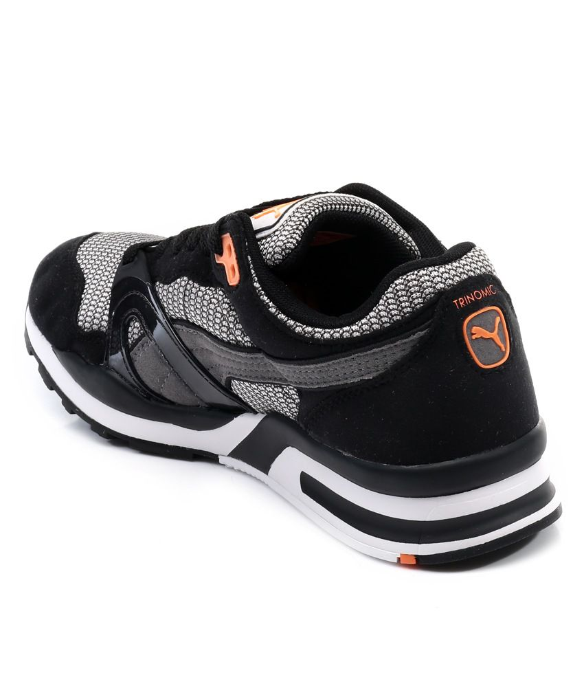 a9ceb8959be516 Puma Trinomic Black Sports Shoes Price in India- Buy Puma Trinomic ...
