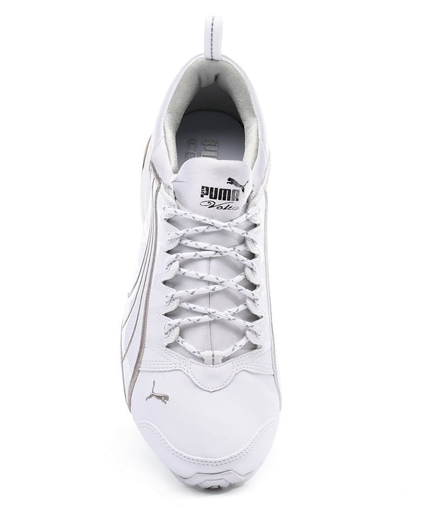 4fafef1857a4 Puma Voltaic Dp White Sport Shoes - Buy Puma Voltaic Dp White Sport ...