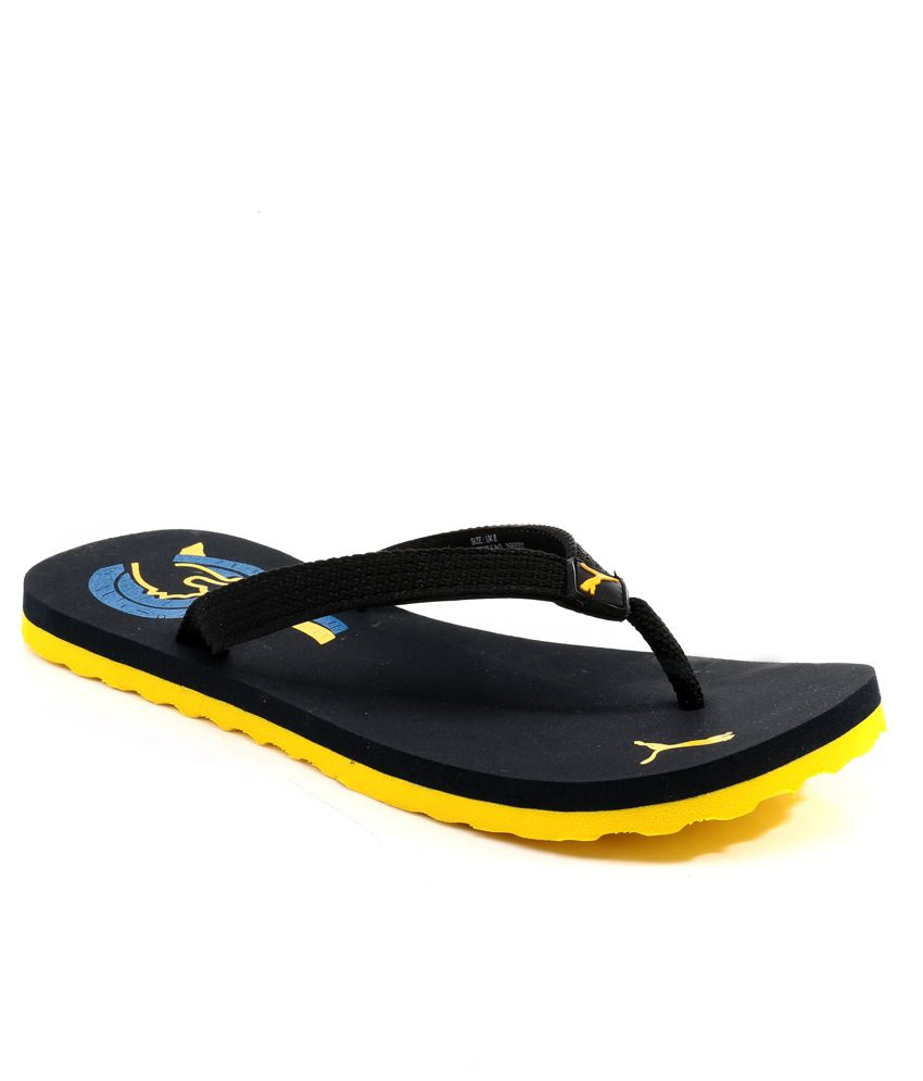 puma wave black flip flops price in india buy puma wave. Black Bedroom Furniture Sets. Home Design Ideas