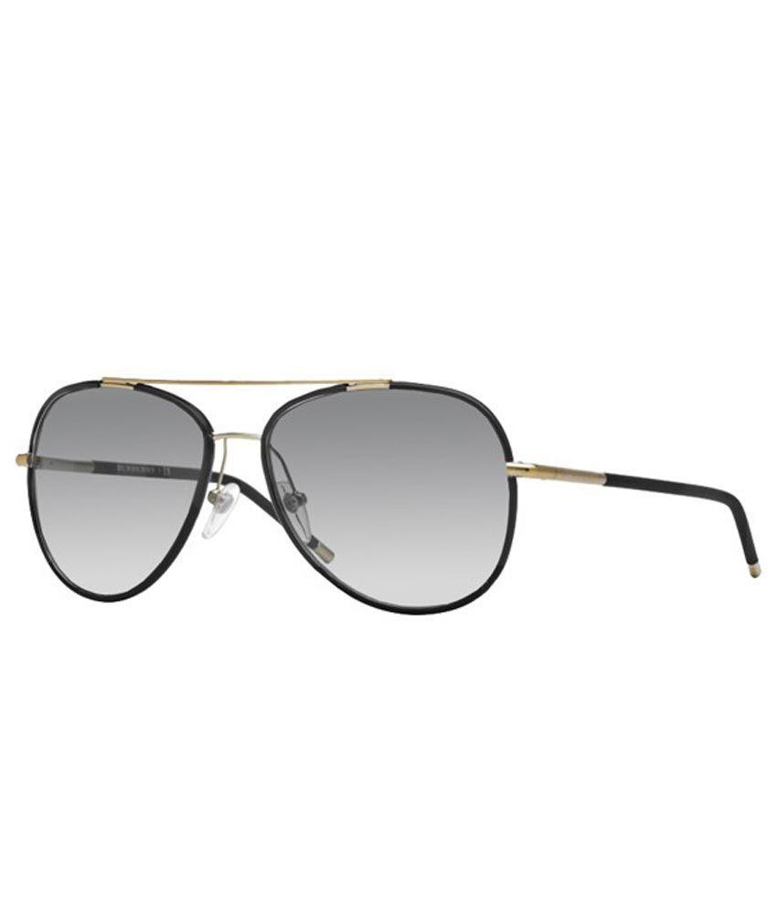 466f6f76cfeea Burberry B-3078J-1145-11 Aviator Designer Sunglasses - Buy Burberry  B-3078J-1145-11 Aviator Designer Sunglasses Online at Low Price - Snapdeal