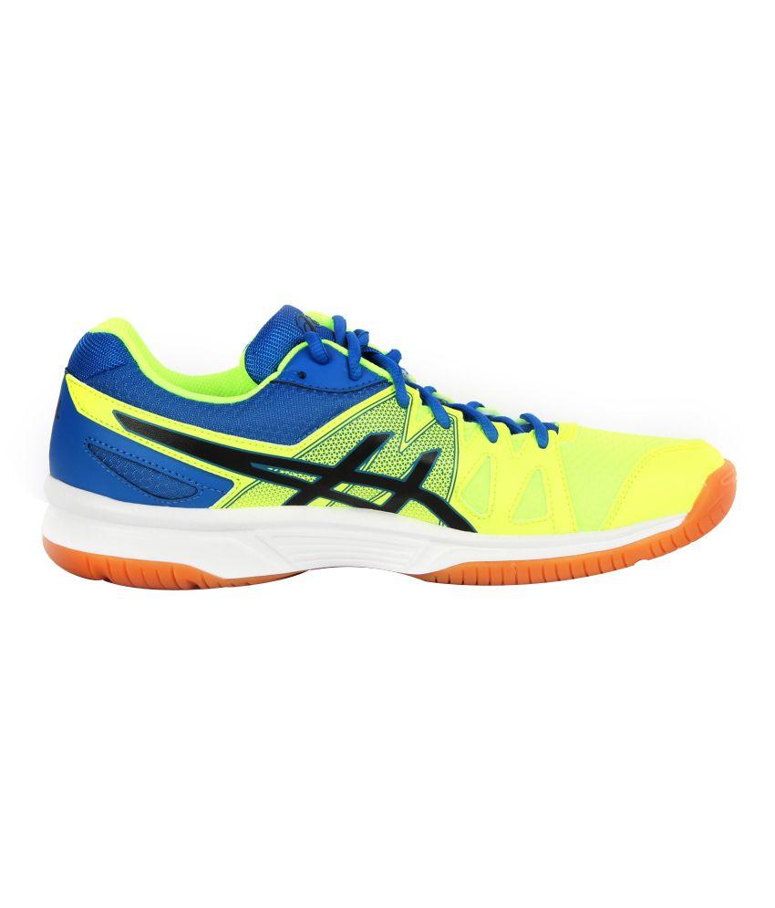 f027d49882b Asics Men Yellow Indoor sport Shoes GEL-UPCOURT - Buy Asics Men ...
