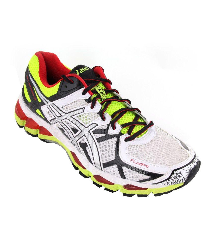 Asics Men White Performance Sport Shoes GEL-KAYANO 21