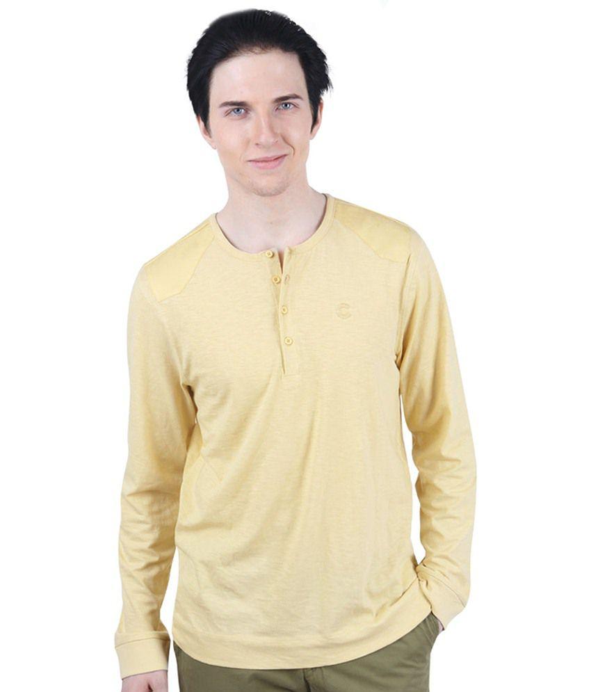 Freecultr Crane Yellow T Shirt