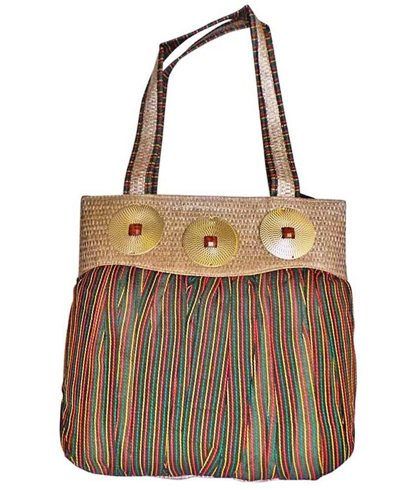 Bhamini Black Amazing Cloth Women Handbag