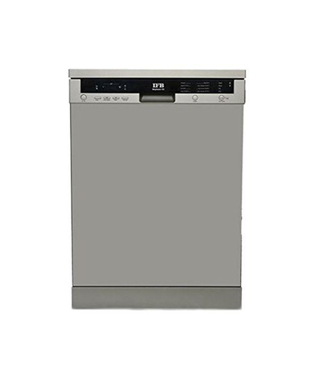 Ifb-Neptunevx-Dishwasher-Dark-Silver