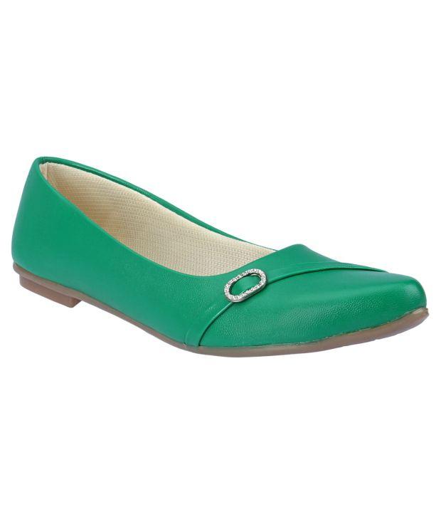 Party girl Green Ballerinas