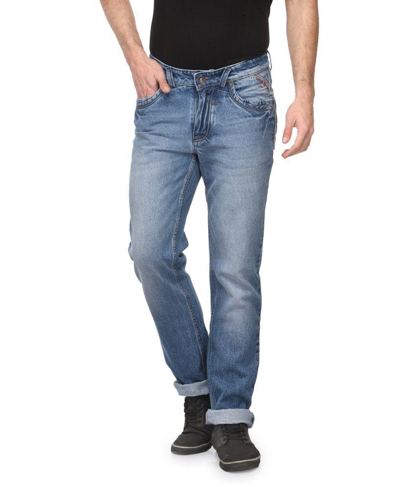 Canary London Blue Cotton Denim Jeans