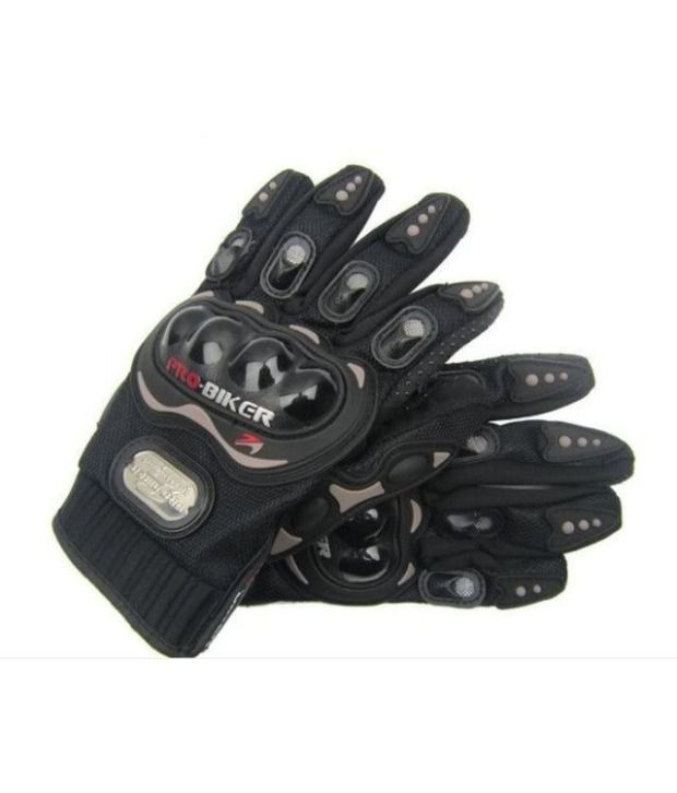 High Quality Bike Racing Pro-biker Motorcycle Riding Gloves Black Size Xl
