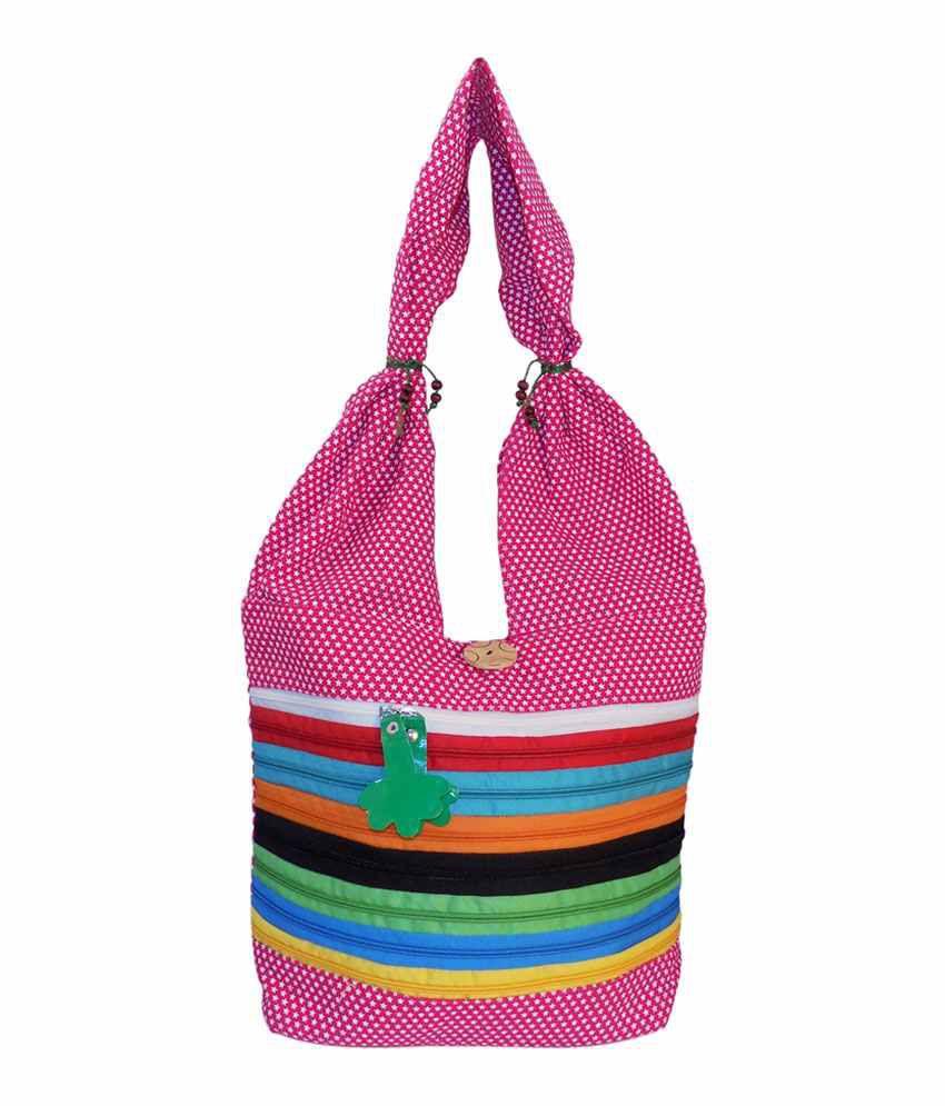 Crafts'man Multicolour Jhola For Women's