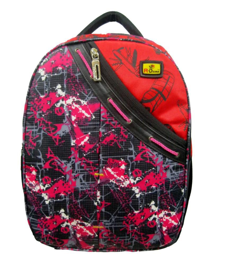R-dzire Water Resistant Pink Laptop Bag