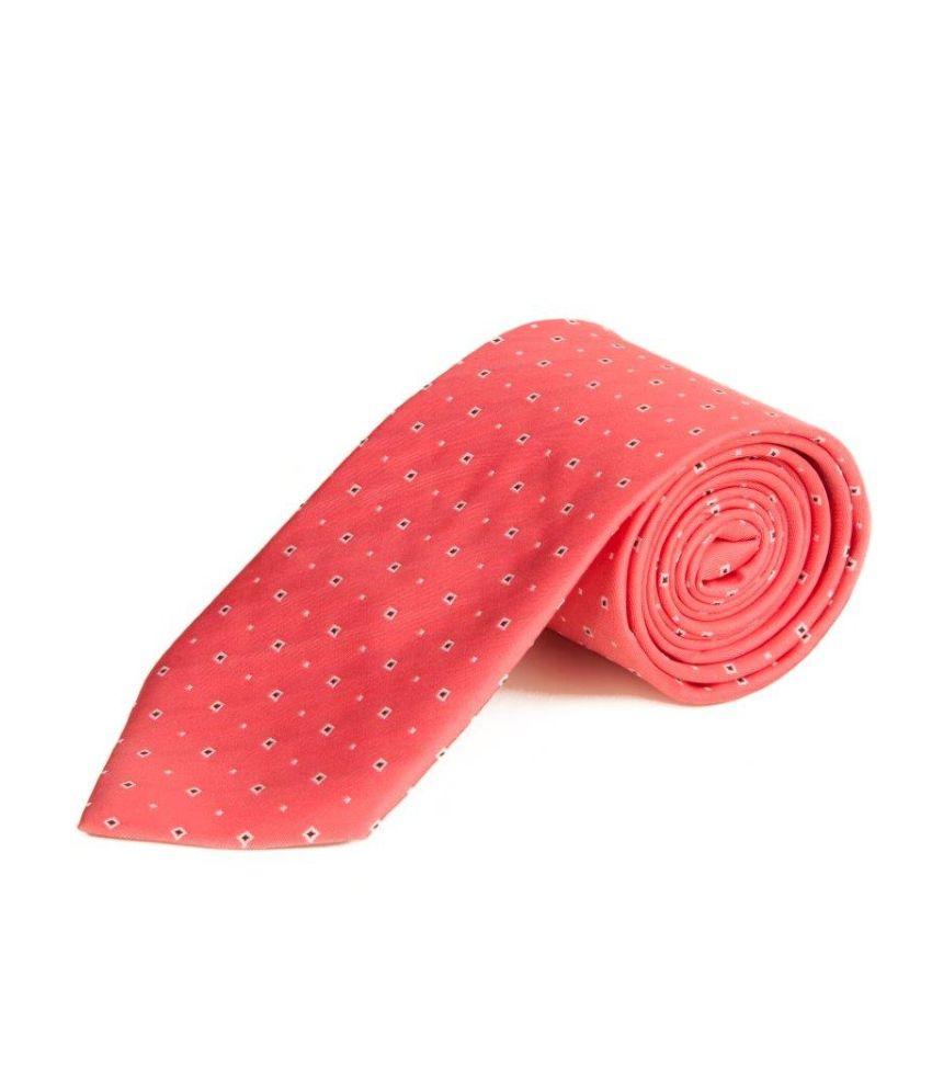The Vatican Pink Formal Necktie