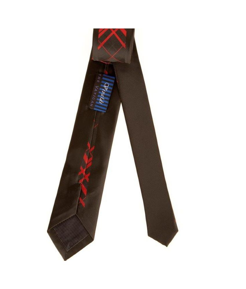 The Vatican Uber-cool Tie With Special Panel Design