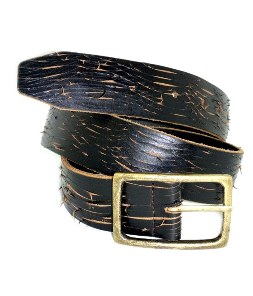 Urban Vintage Classic Leather Belt