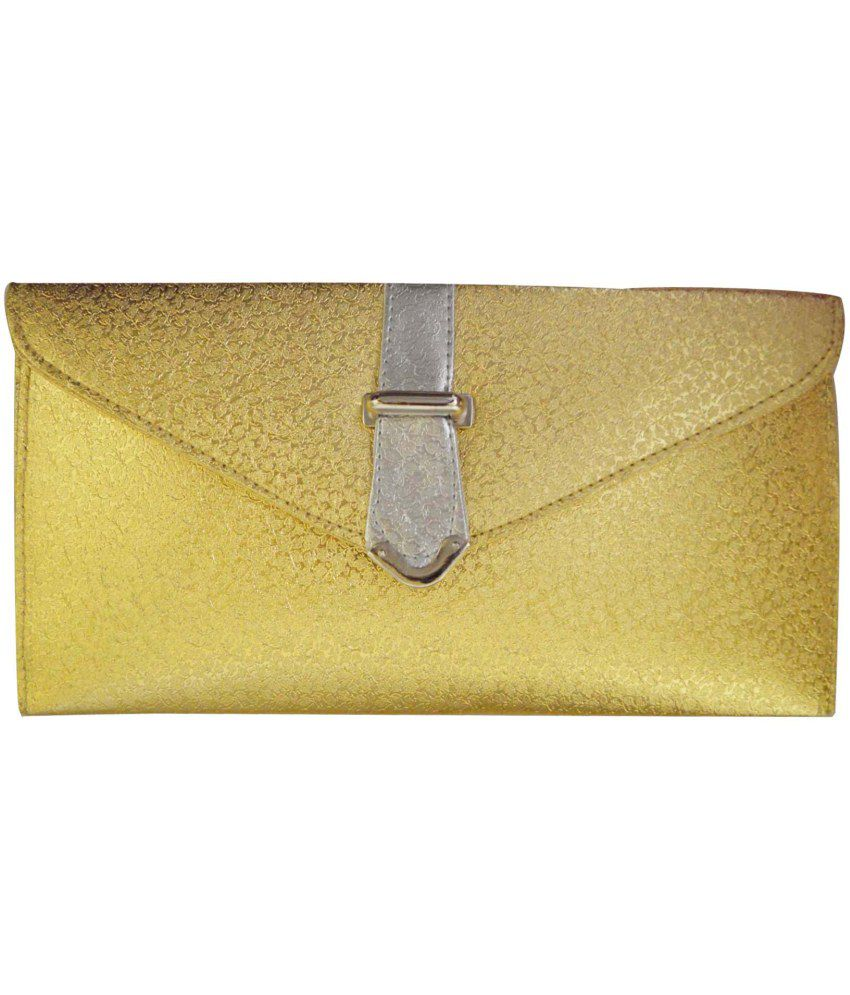 Shree Gold Clutch For Women