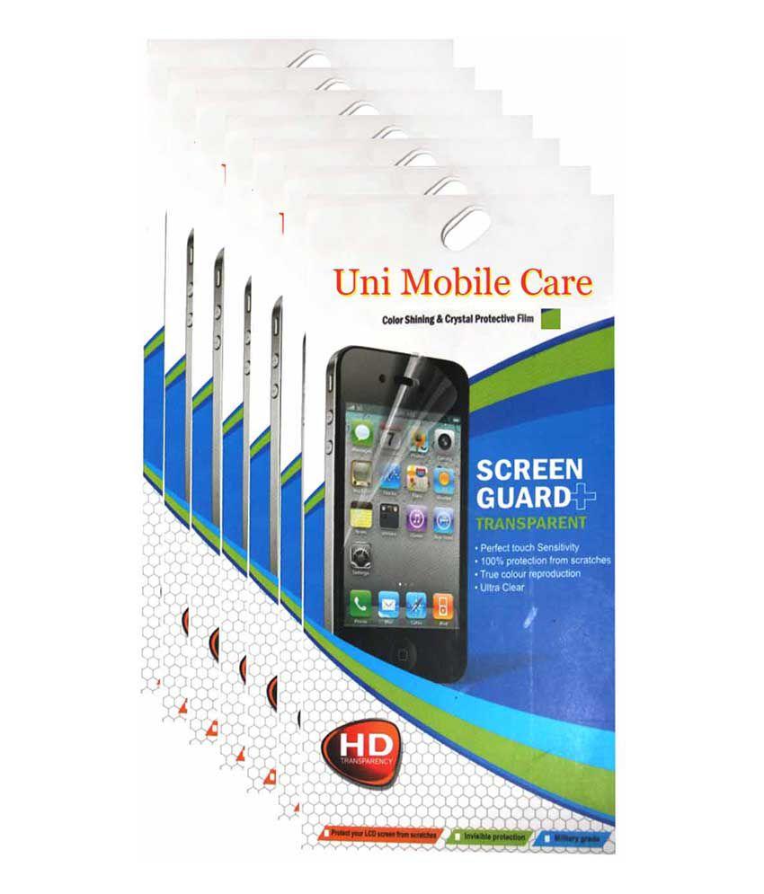 Uni Mobile Care Nokia Lumia 520 Matte Screen Guard /Protector (combo pack of 7 pcs)