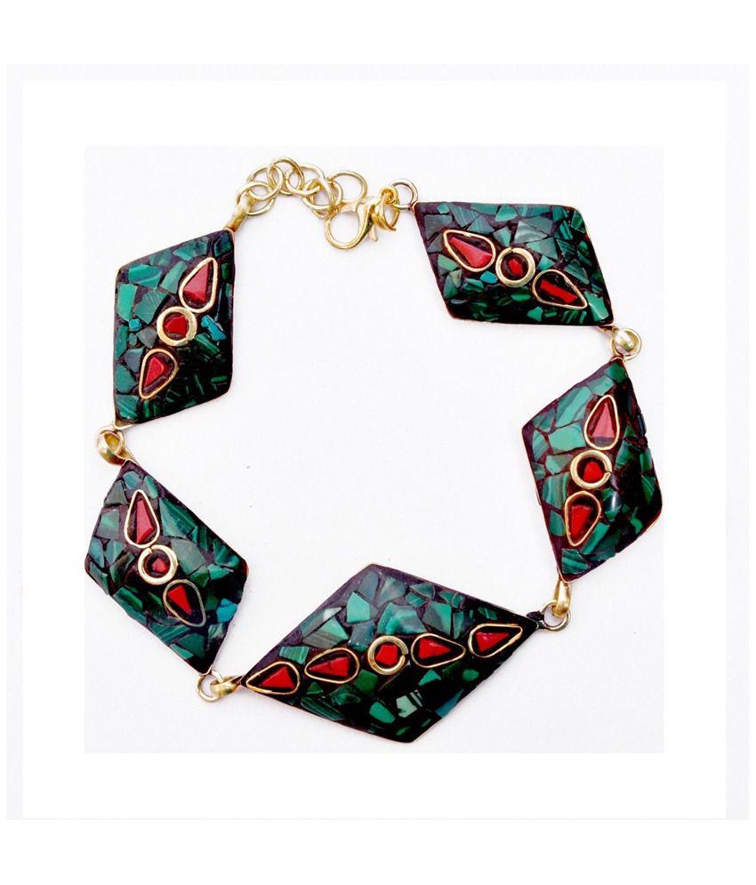 Imli Street Designer Alloy Brass Bracelet