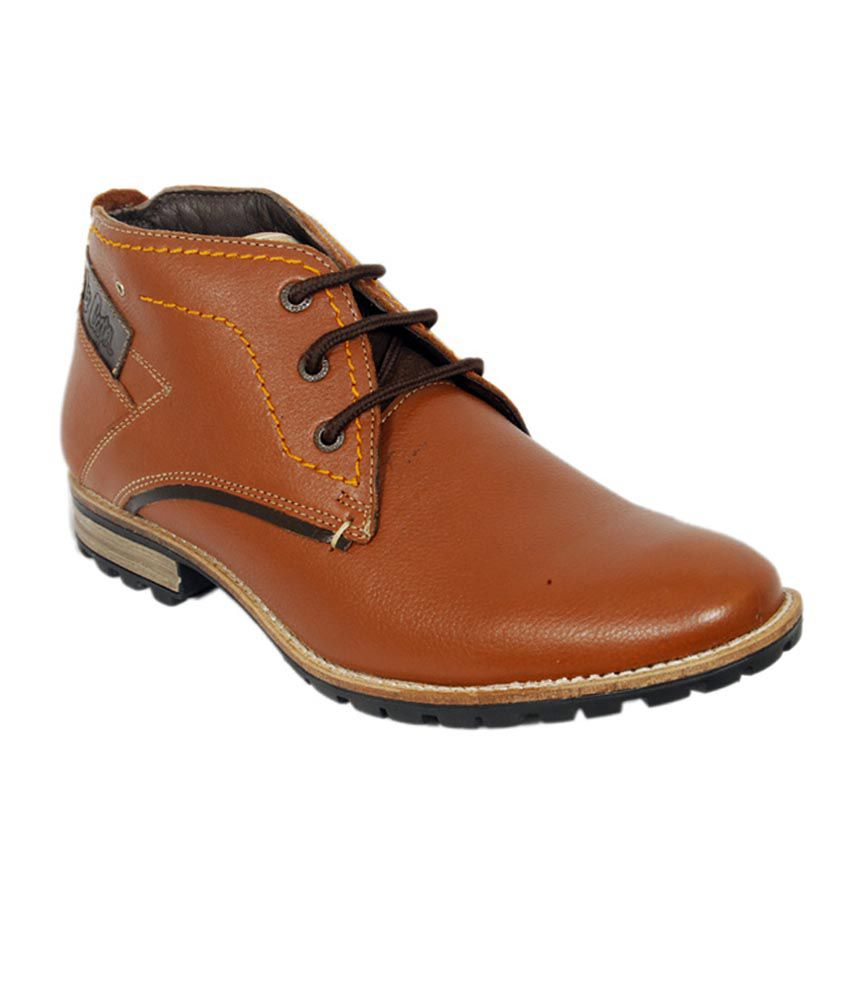 Lee Cooper Tan Casual Shoes