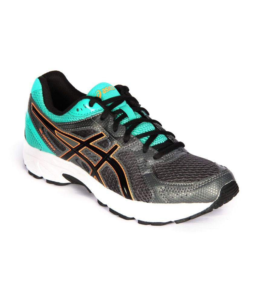 1f26766fdadd Asics Men Green Running Shoes - Gel-Contend 2 - Buy Asics Men Green Running  Shoes - Gel-Contend 2 Online at Best Prices in India on Snapdeal