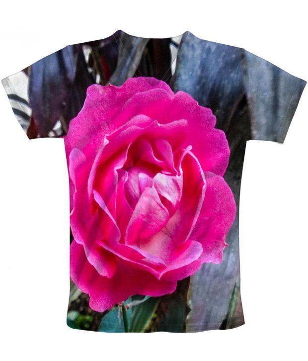 Freecultur Express Pink Cotton Blend T-shirt