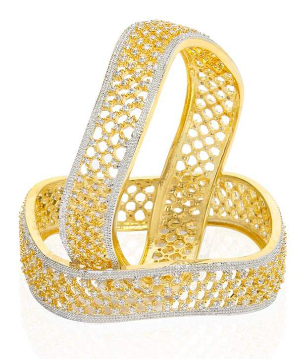 Jewels Galaxy Incredibly Designed Ad Bangles