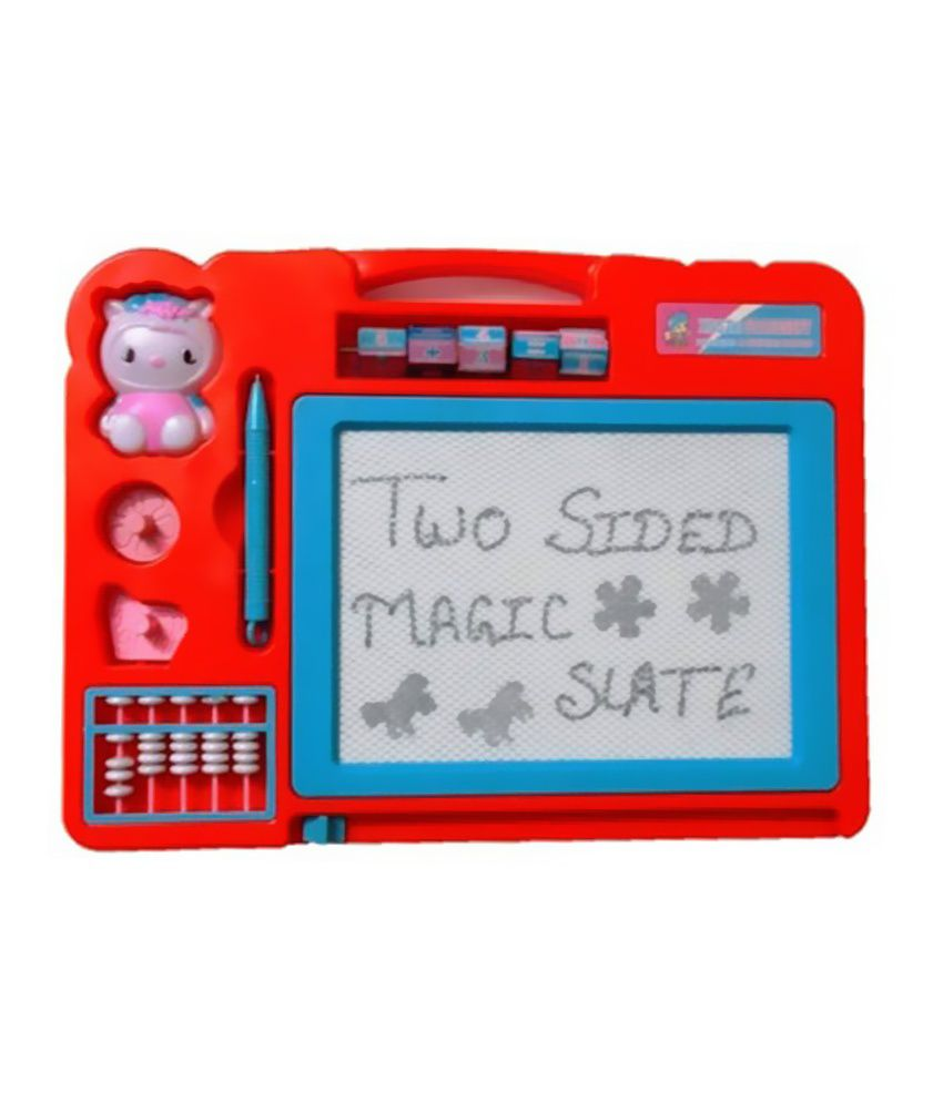 Parks Big magic slate with counting frame and stamps - Buy Parks Big ...