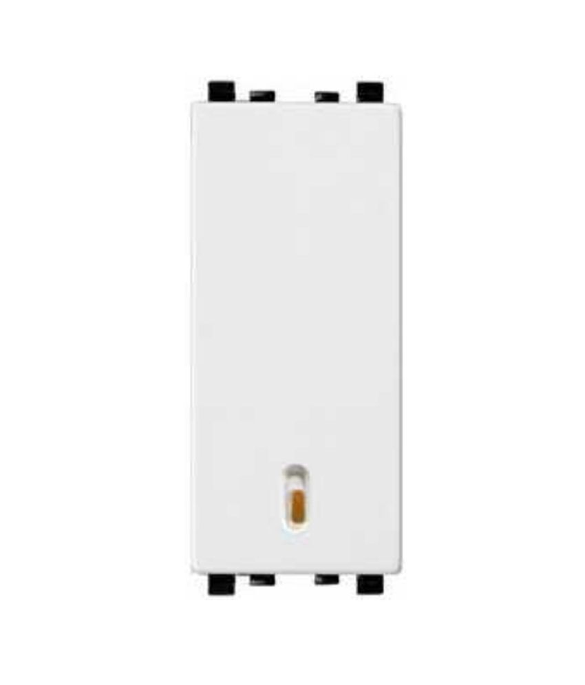 b4d58d3ea1d Buy Schneider Electric 6AX 1 Way Full Flat Switch Module With Indicator Online  at Low Price in India - Snapdeal