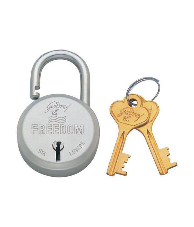 Buy Godrej Freedom 6 Lever Padlock Online At Low Price In