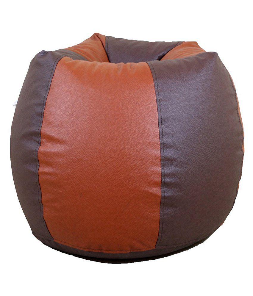 Groovy Orka Bean Bag Xxxl With Beans Brown Inzonedesignstudio Interior Chair Design Inzonedesignstudiocom