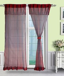 pleated curtains buy pleated curtains online at best prices in rh snapdeal com