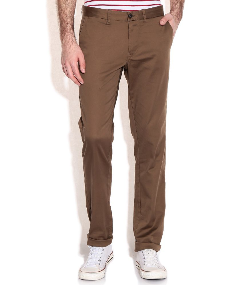 Indian Terrain Khaki Chinos