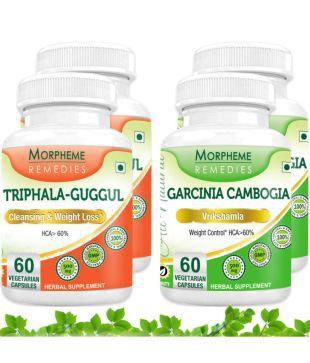 Morpheme Garcinia Cambogia + Triphala Guggul For Weight Loss
