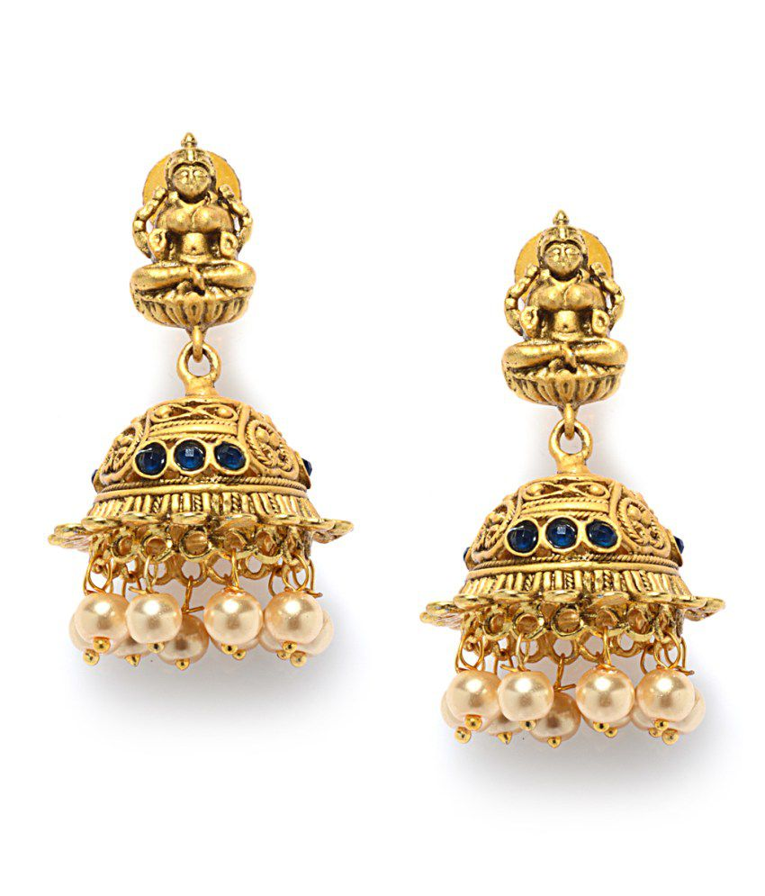 Alankruthi Irresistible Matte Finish Earrings