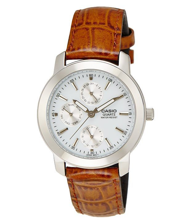 watches s brown men online at megir leather watch chronograph buy strap dp low