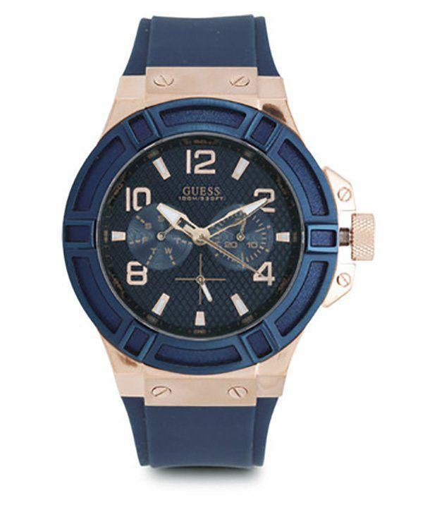 Guess Rigor W0247G3 Men's Watch - Buy Guess Rigor W0247G3 ...