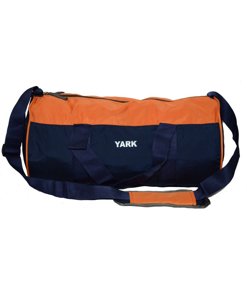 Yark Orange Travel gear Gym Bag