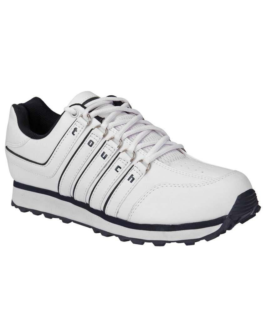 Lakhani White Sports shoes for men
