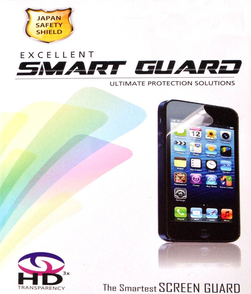 Smart Guard Clear Screen Guard For BlackBerry Z10 (Pack Of 3)