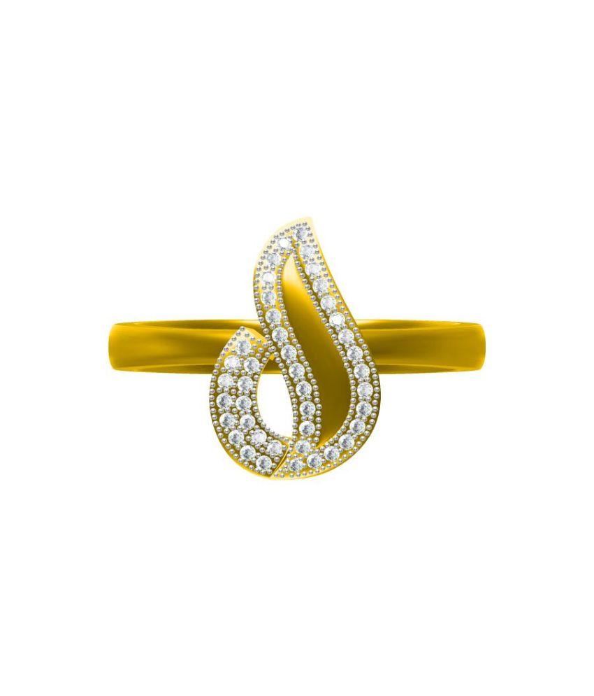 Sakshi Jewels 18kt Gold Ring