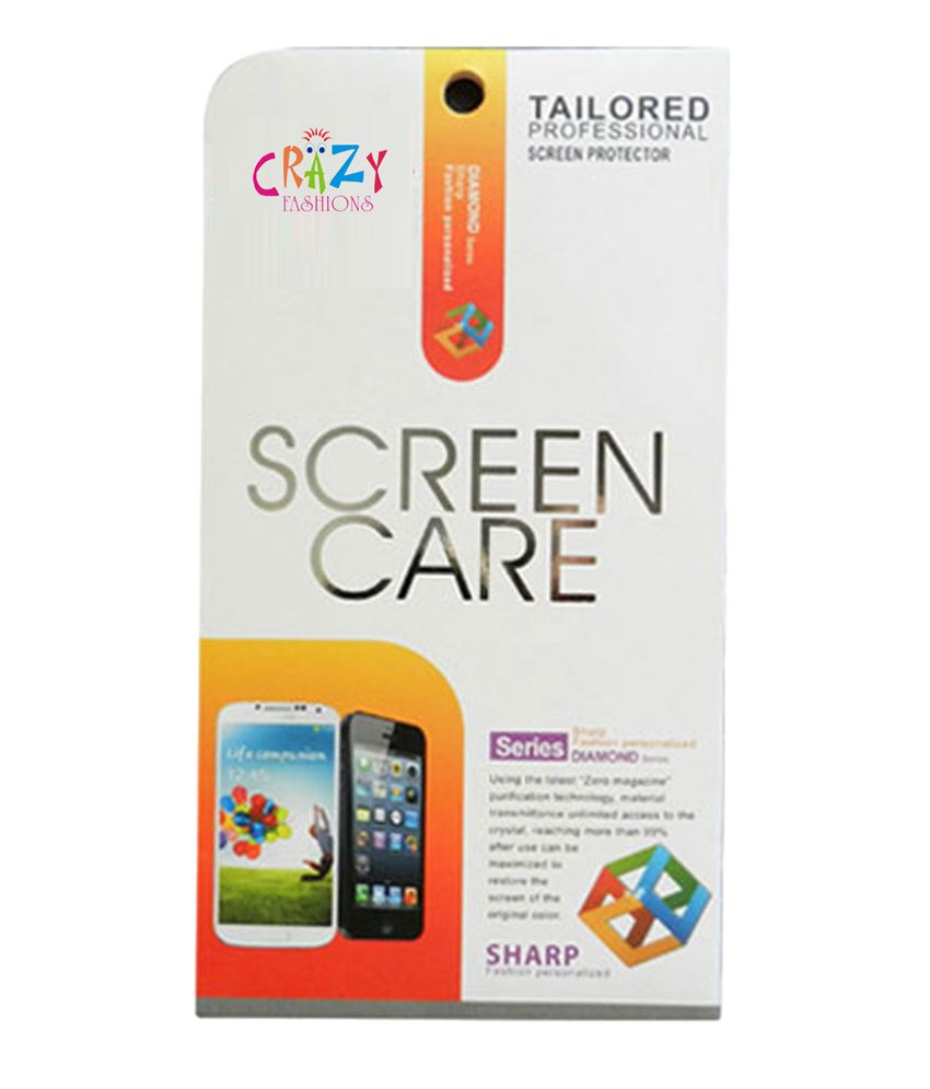 Crazy Fashions Clear Screen Guard for Gionee Gpad G1 - Pack of 9
