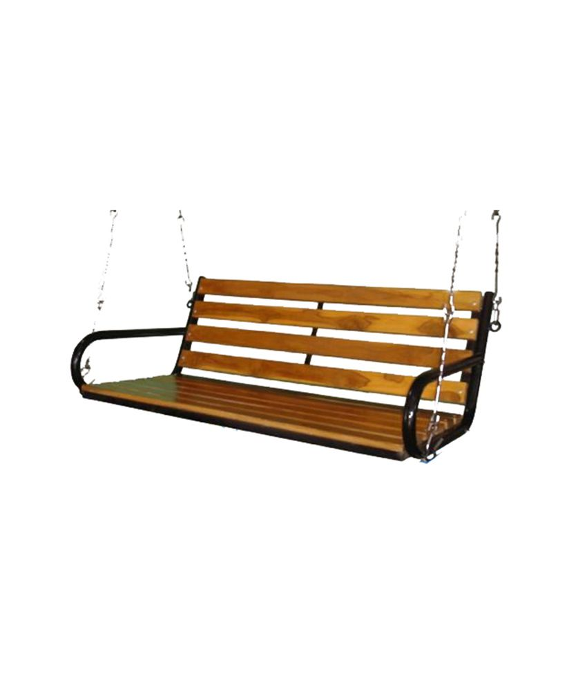 Kaushalendra Garden Zula Wooden Indoor Hanging Swing - Buy ...