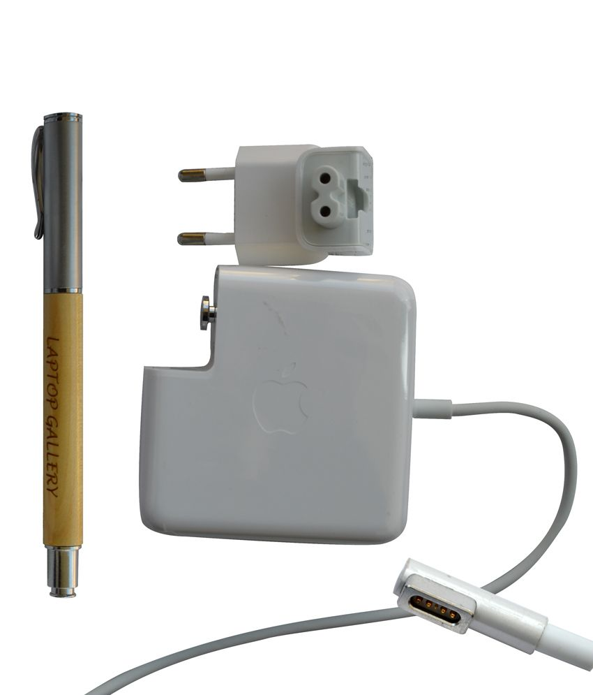 APPLE GENUINE ORIGINAL MAGSAFE POWER ADAPTER 16.5V 3.65A 60W FOR 661-4339 A1344 WITH CLEAN INDIA WOODEN PEN
