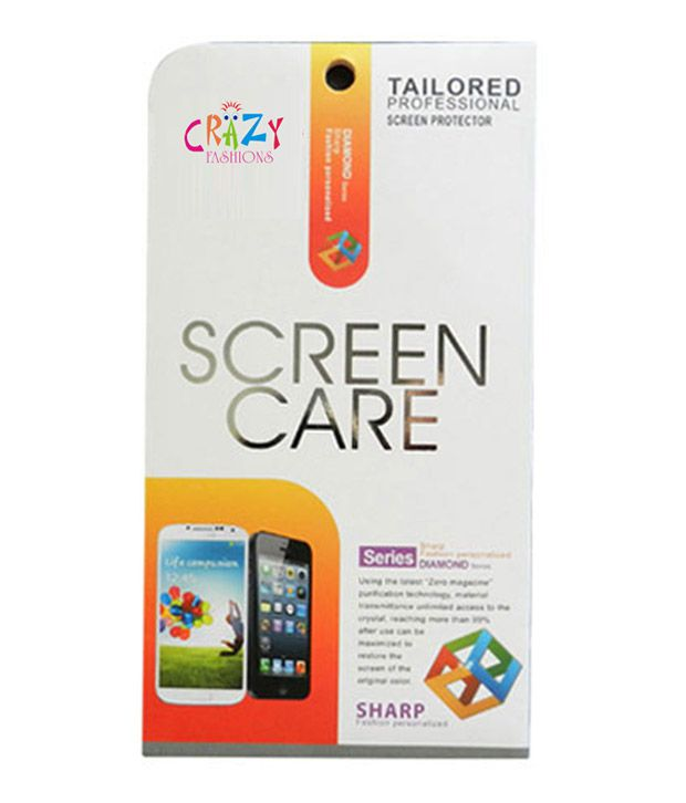 Crazy Fashions Screen Guard for Apple iPhone 5 - Pack of 5