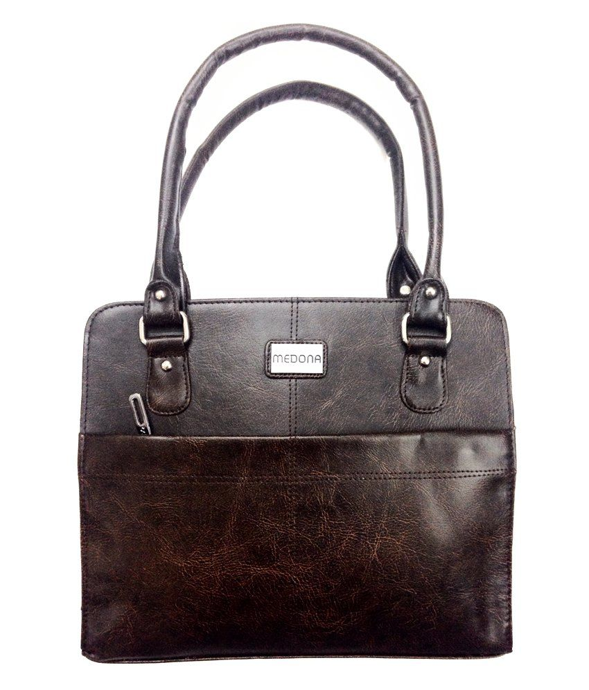 Medona Brown Women Bag