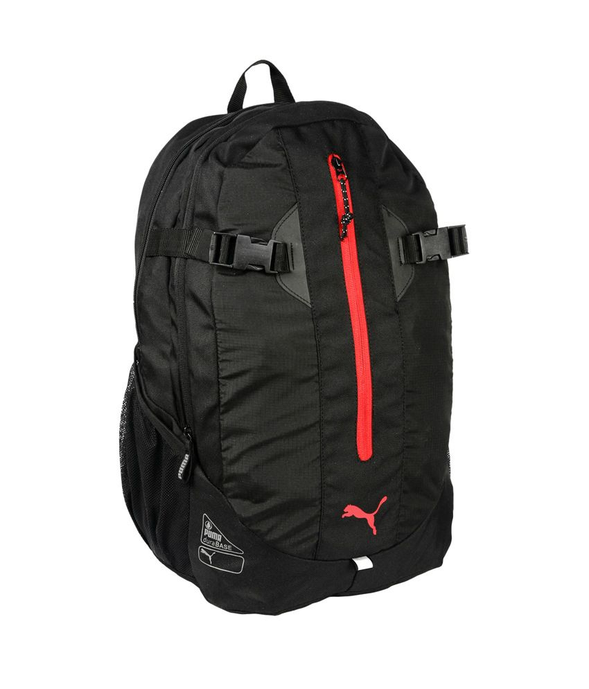 a80519a8c469 Puma Apex Black Polyster Water Resistant Backpack Puma Apex Black Polyster  Water Resistant Backpack ...