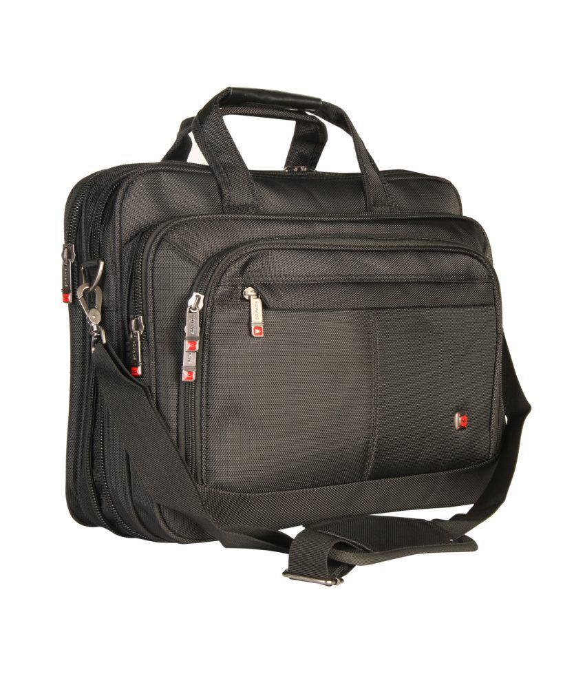 Sonada Black Laptop Bag