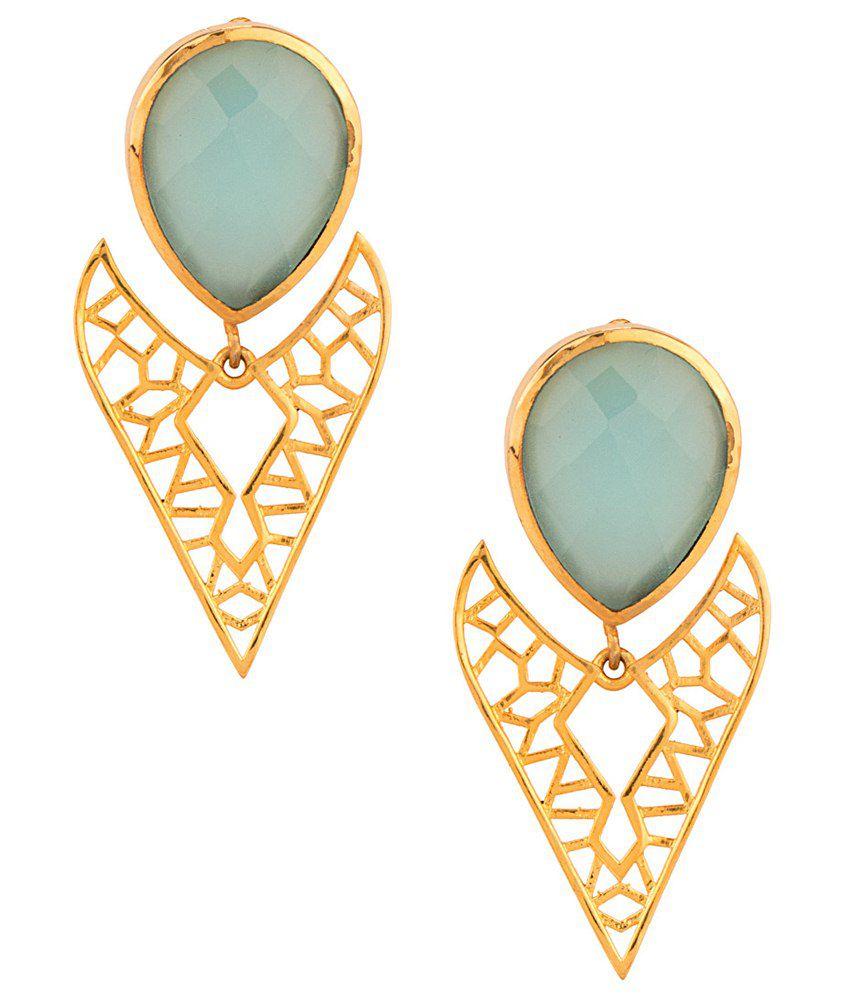 Voylla Fabulous Designer Hanging Earrings