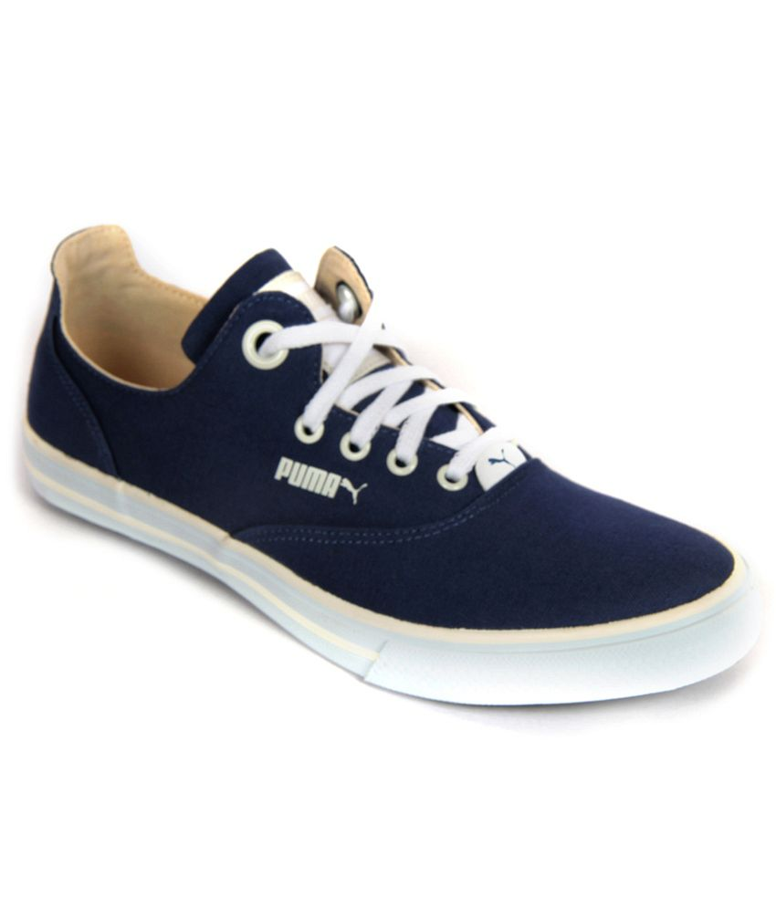 Blue Canvas Shoes Buy Online