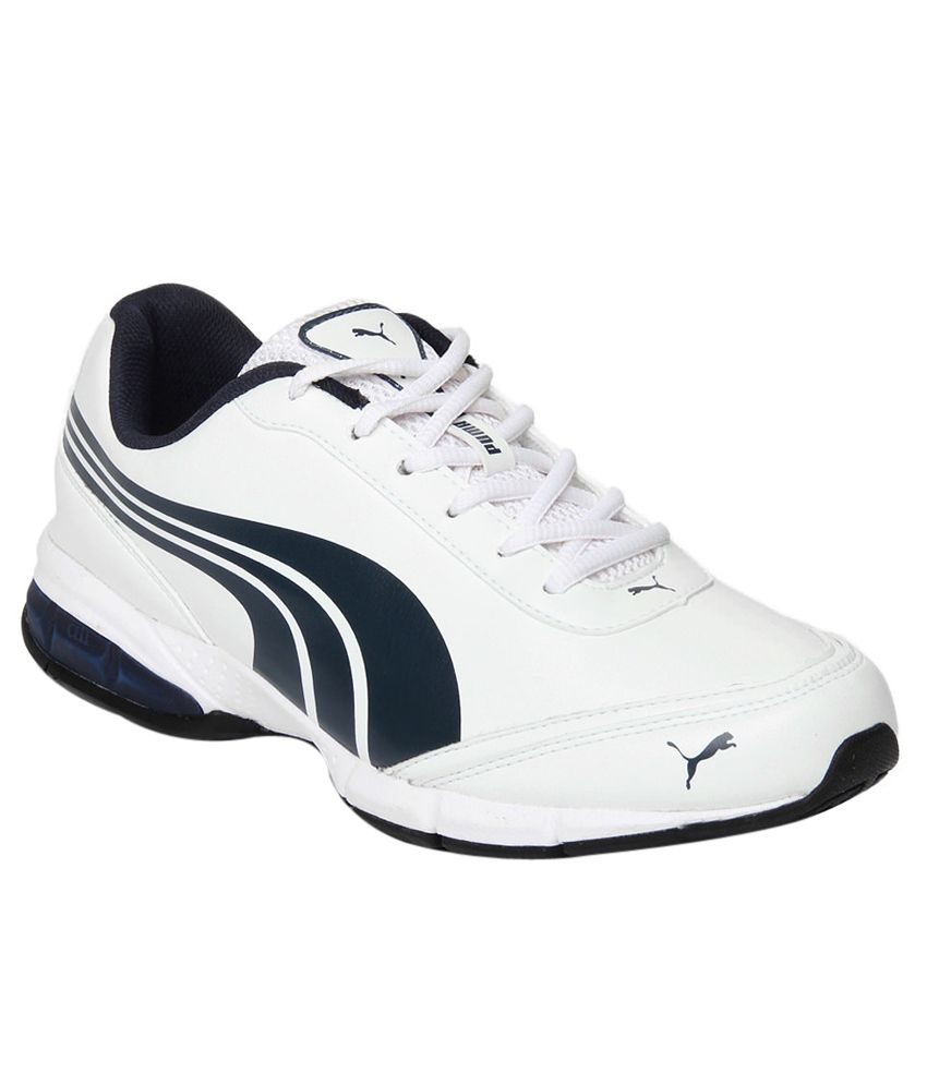 7d85692c529 Puma Roadster White Sports Shoes - Buy Puma Roadster White Sports Shoes  Online at Best Prices in India on Snapdeal